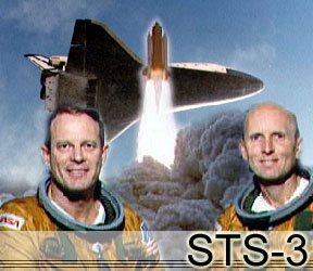 STS-3 Mission Photo - Columbia